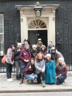 Ottery St Mary Rangers with their funded Hoodies visiting London