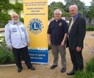 Past President Lion Brian with Account Kev and Lion President Steve