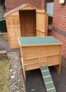 Chicken Coop and Shed ready for use