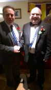 Lion President Brian and Neil Parish
