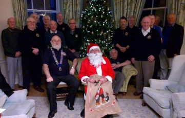 Christmas greetings from Honiton Lions