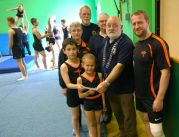 £100 from Lions to Honiton Gymnastics Club
