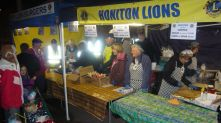 The Lions BBQ stand from 2013