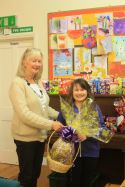 Congratulations to Emma Morgan who won the Giant Easter Egg