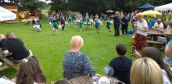 Twirl stars and crowds at duck race