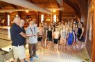 Presentation of �100 to Honiton swimming club