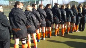 Honiton Hornets with their new weatherproof jackets