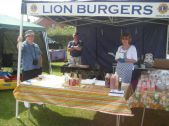 Lions BBQ with cooks at the ready
