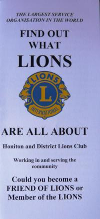 About Honiton Lions