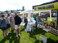 Lion Ed with the LIONS stand 2012