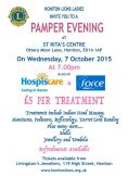 PAMPER EVENING 2015