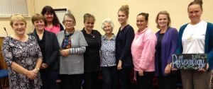 Lions Ladies with Pamper treatment group