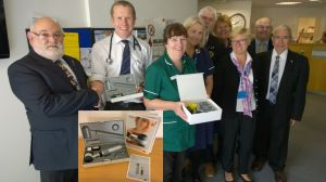 Presentation of the Dermatoscope to Honiton surgery