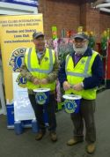 Lions Bill and Brian at Nov collection