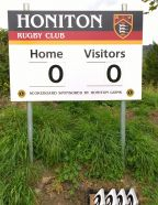 New scoreboard for HRFC