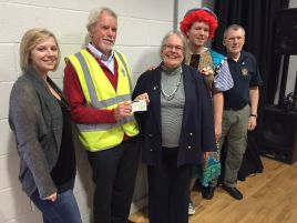 Honiton Community Theatre Company receive £250 grant towards new wireless microphones system