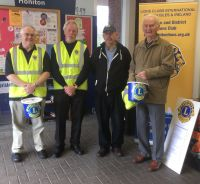 Lions at Tesco Honiton