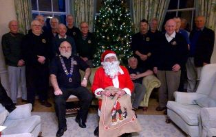 End of year Christmas greeting from Honiton Lions
