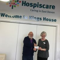 £100 for Hospice Care Honiton