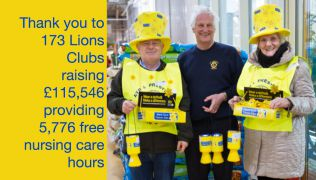 Marie Curie's Great Daffodil Appeal 2015