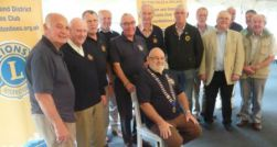 Group of Honiton Lions members