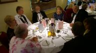The top table with DG Alan Good