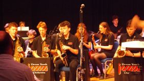 Devon Youth Jazz Orchestra at Beehive Honiton